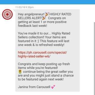 Carousell Featured Seller