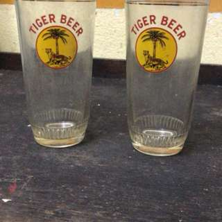 Tiger beer glass