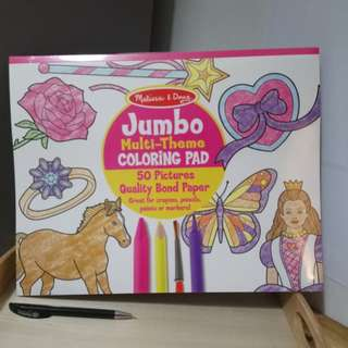 [FreeMail] Melissa & Doug Jumbo Coloring Pad $10.50