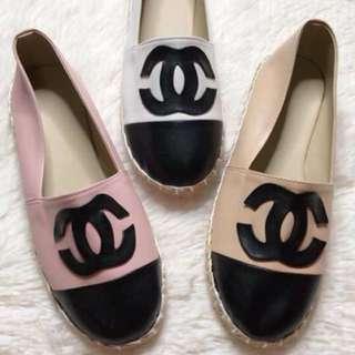 Chanel Inspired Espadrilles