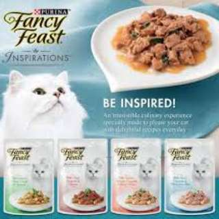 Fancy Feast Inspiration Pouches 70g