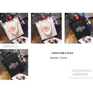 SN70856 Canvas Bags for Ladies Women Girl Style Accessories
