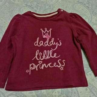Take All Mothercare Baby Girl Long Sleeve Shirt