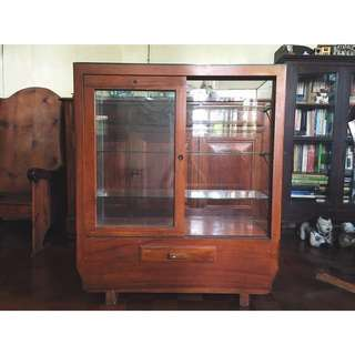 Antique Store Display Cabinet