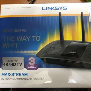 Brand New in Box linksys AC1900 Router
