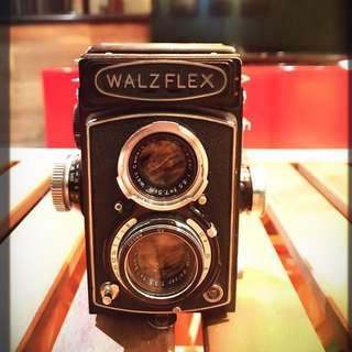 「M-500高階雙眼相機」  早期 古董 復古 懷舊 稀少 有緣 大同寶寶 黑松 沙士 鐵件 40年 50年