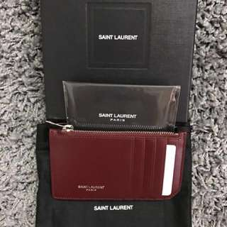 YSL Cardholder Valentines Gift to Girlfriend