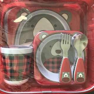 New Skip Hop mealtime gift set