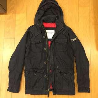 🚚 A&F 經典連帽保暖外套 (正品美國購買自用)