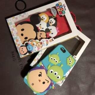 🚚 iPhone6s plus TSUM TSUM 迪士尼米奇/三眼怪手機殼
