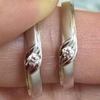 🈹️周大福18k金鑽石對戒 原價$9900 平到笑$2880 超筍