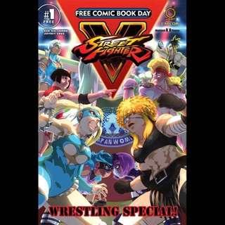 Street Fighter Comic Manga Fcbd Doujinshi Eechi Ecchi