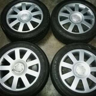 PERDANA V6 3rd Model Original Sport Rim 16 inch C/W tyre