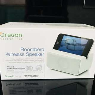 Boombero wireless speaker