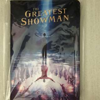 The greatest showman notebook!!
