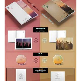 [READY STOCK]SEALED GOT7 7for7 magic hour