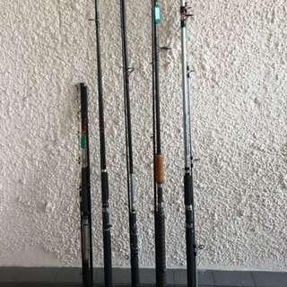10' ft Fishing rods