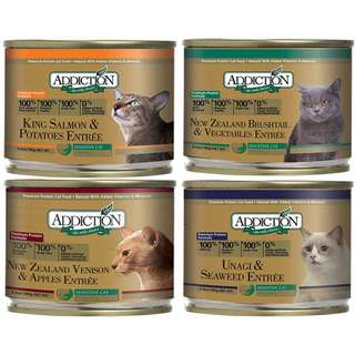 Addiction Canned Cat Food 185g, 6cans