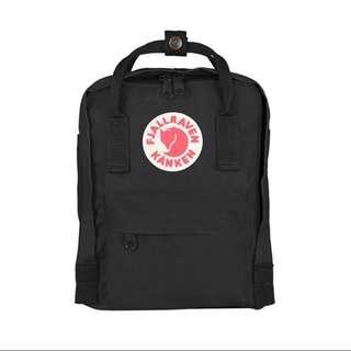Black Kanken Mini Backpack