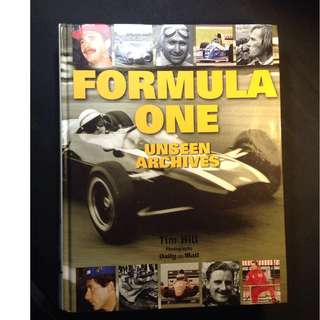 Formula 1 F1 Archives Book Coffeetable Book
