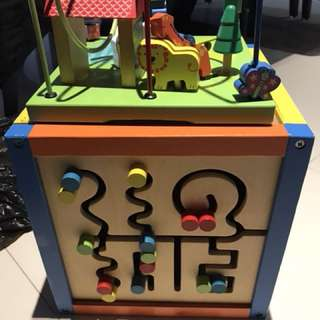 IQ Educational wooden toy