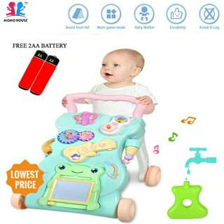 Baby walker educational and music