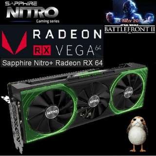 Sapphire NITRO+ VEGA 64 8GB.