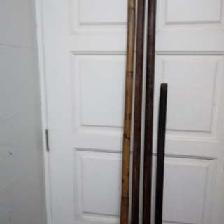 Kung Fu old cane & old wood
