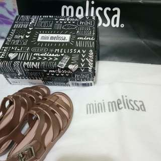 Mini melissa flox shine like new s7
