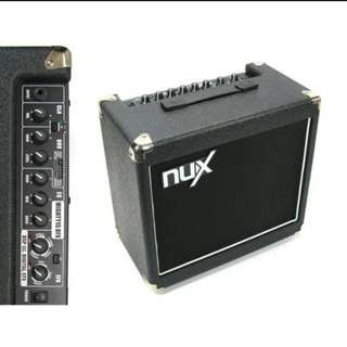 NUX mighty15 DFX guitar amplifier and with built in effect