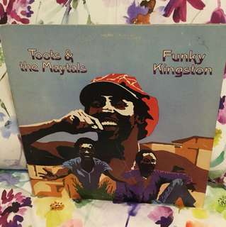 Toots and the Maytals - funky Kingston lp vinyl reggae