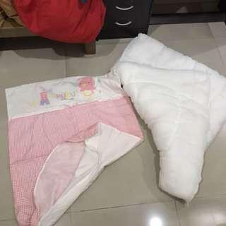 Bedcover puku pink