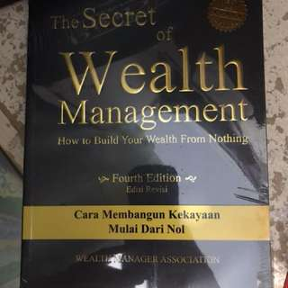 The secret of wealth managemnt book