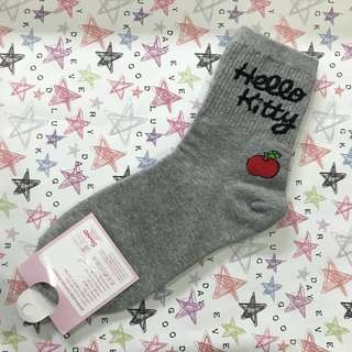 Others|韓版 正版 Hello Kitty 中長筒 襪子