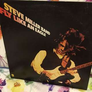 Vinyl Lp - Steve Miller Band - fly like an eagle
