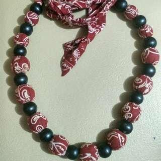 Batik belt/necklace