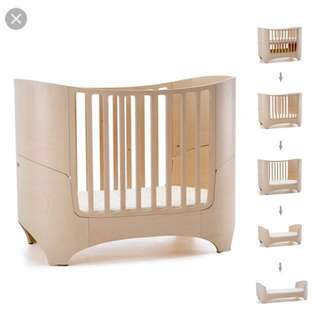 Leander Cot, convertible to Junior Bed (matching mattress set + free Leander mattress protector included)