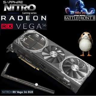 Sapphire NITRO+ VEGA 56 8GB..