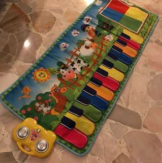 Xylophone Kid Music Play Mat