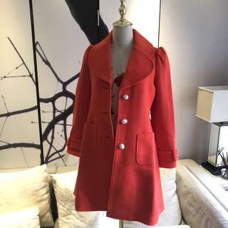 brand new Kate Spade Red Wool Coat