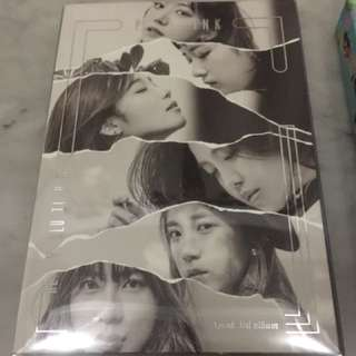 Apink Pink Revolution album fullset with hayoung pc
