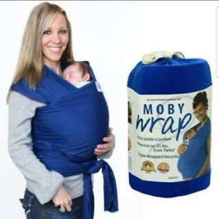 Moby wrap - baby wearing