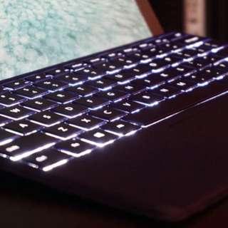 Microsoft Surface Pro 4 Keyboard Blue 70% new 全好無壞