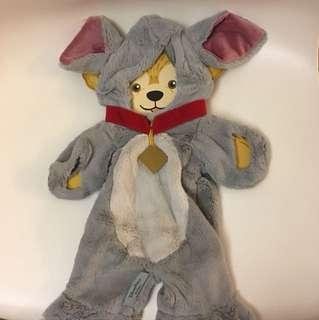 Hkdisneyland duffy Shelliemay Winnie the Pooh eeyore 公仔衫 一件