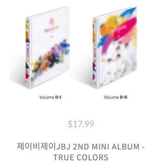[Pre-Order] JBJ 2nd Mini Album: True Colors