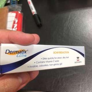 Dermatix ultra scar cream silicone gel 15g