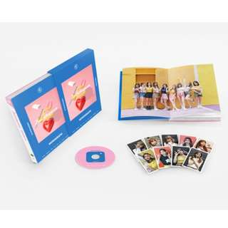[PREORDER] [Limited Edition] TWICETAGRAM MONOGRAPH (PHOTOBOOK+1DVD+PHOTOCARD 9EA)