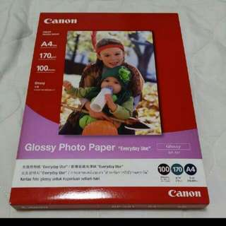 Canon Glossy A4 Photo Paper