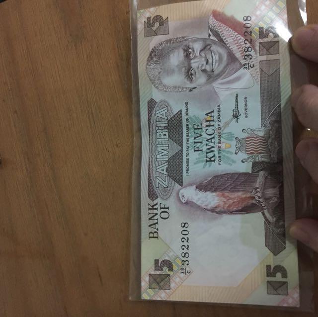 5 kwatcha zambia