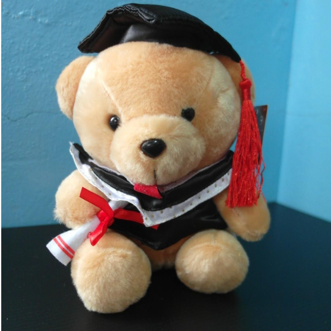 全新🔅畢業小熊玩偶🔅
